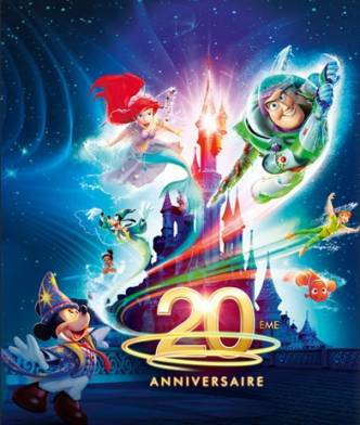 20 ans de Disneyland Paris