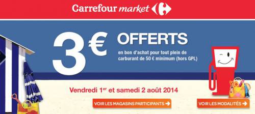 carrefour 3 offerts avec votre carburant. Black Bedroom Furniture Sets. Home Design Ideas