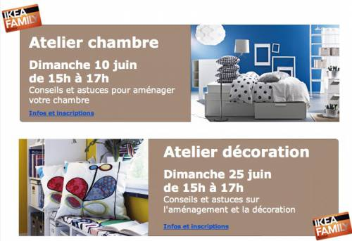ikea plaisir 20 ans promos et ateliers gratuits. Black Bedroom Furniture Sets. Home Design Ideas