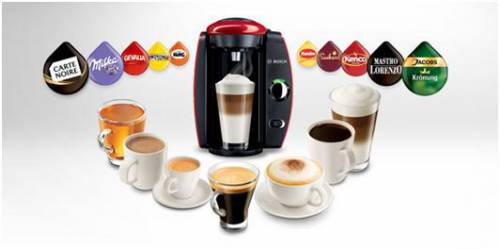 Capsules Cafe Pour Machine Tassimo