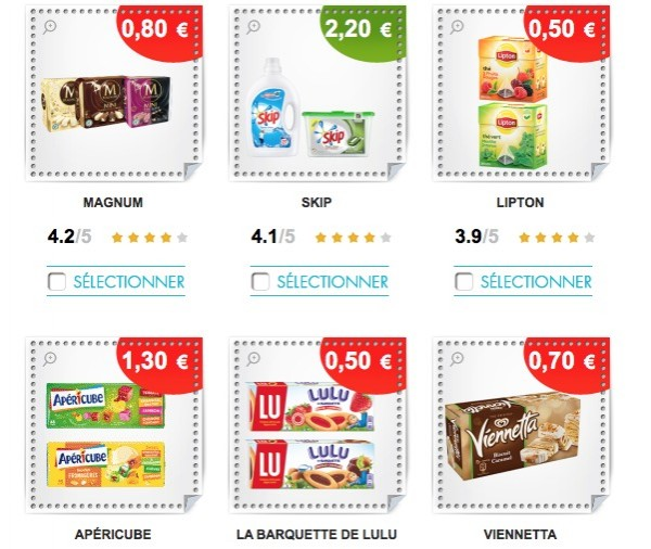 Bon de reduction coupons a imprimer