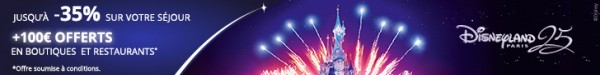disneyland paris promo -30%