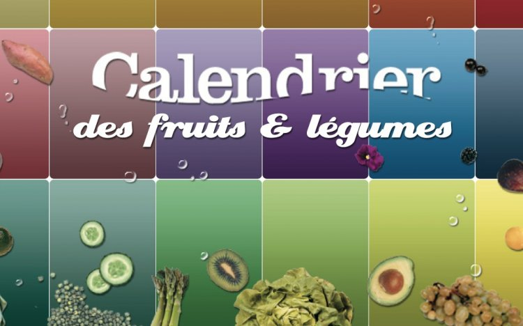 calendrier fruits et l gumes de saison gratuit. Black Bedroom Furniture Sets. Home Design Ideas