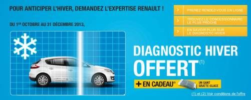 renault diagnostic hiver gratte glace gratuits. Black Bedroom Furniture Sets. Home Design Ideas