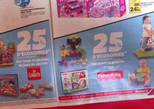auchan no l 2013 playmobil 1 5 goliath 25. Black Bedroom Furniture Sets. Home Design Ideas