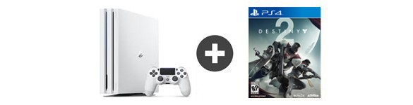 pack ps4 pro blanc destiny 2