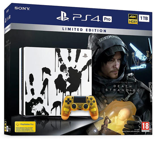 PS4 PRO 1 To Special Edition + Death Stranding