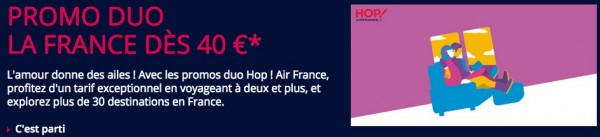 promo duo air france dès 40 euros