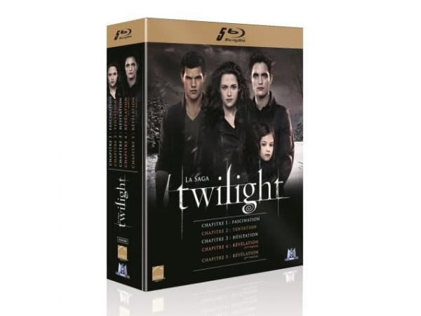 coffret twilight blu-ray