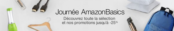 journée amazon basics