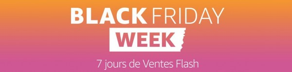 amazon black friday week : 7 jours de ventes flash