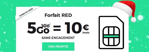 promotion forfaits sfr red