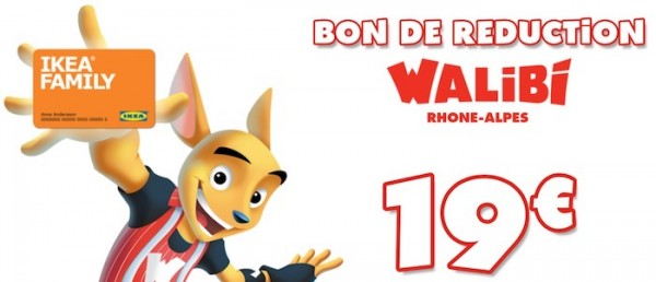 bon de réduction walibi : la place à 19 euros avec la carte ikea family