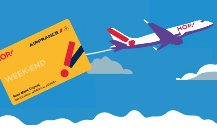 code promo carte jeune hop Air France Hop : carte Weekend, Senior, Jeune à 29€