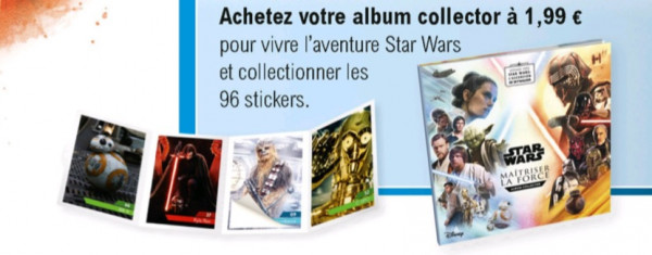 leclerc star wars stickers autocollants à collectionner en 2019