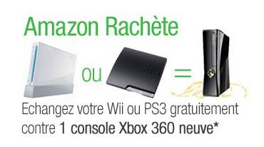 ps3 ou wii changer contre une xbox 360 neuve. Black Bedroom Furniture Sets. Home Design Ideas