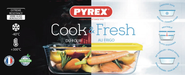 pyrex cook and fresh