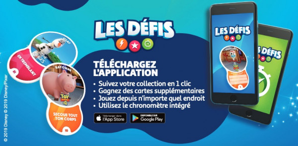 application les défis auchan toy story 4