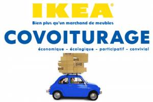 le covoiturage version ikea